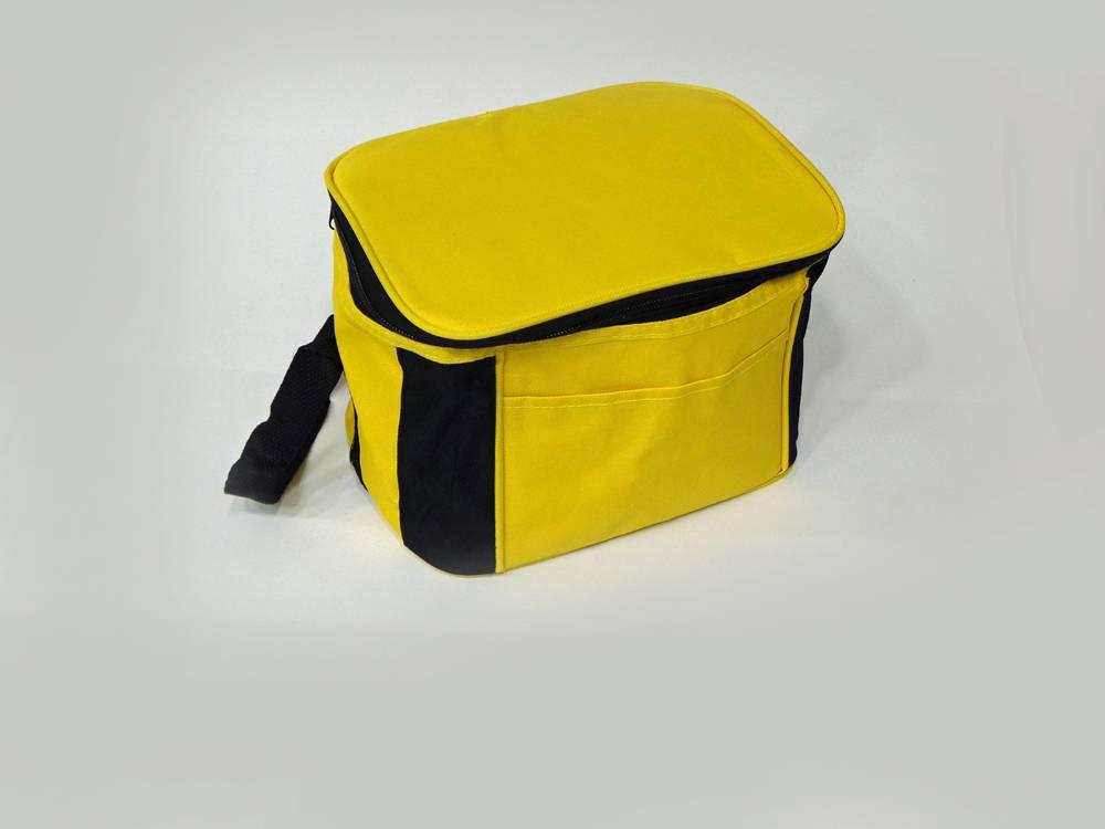 Work instrument bag, yellow. Volume 150x150x200mm
