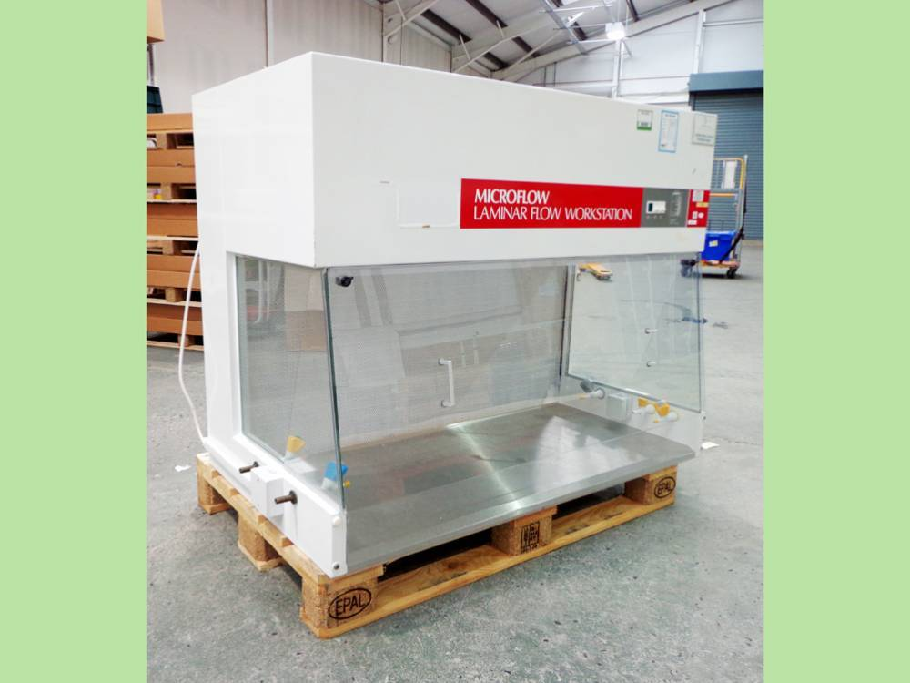 Microflow Laminar Flow Workstation, with Base Stand, Model 50546/1.