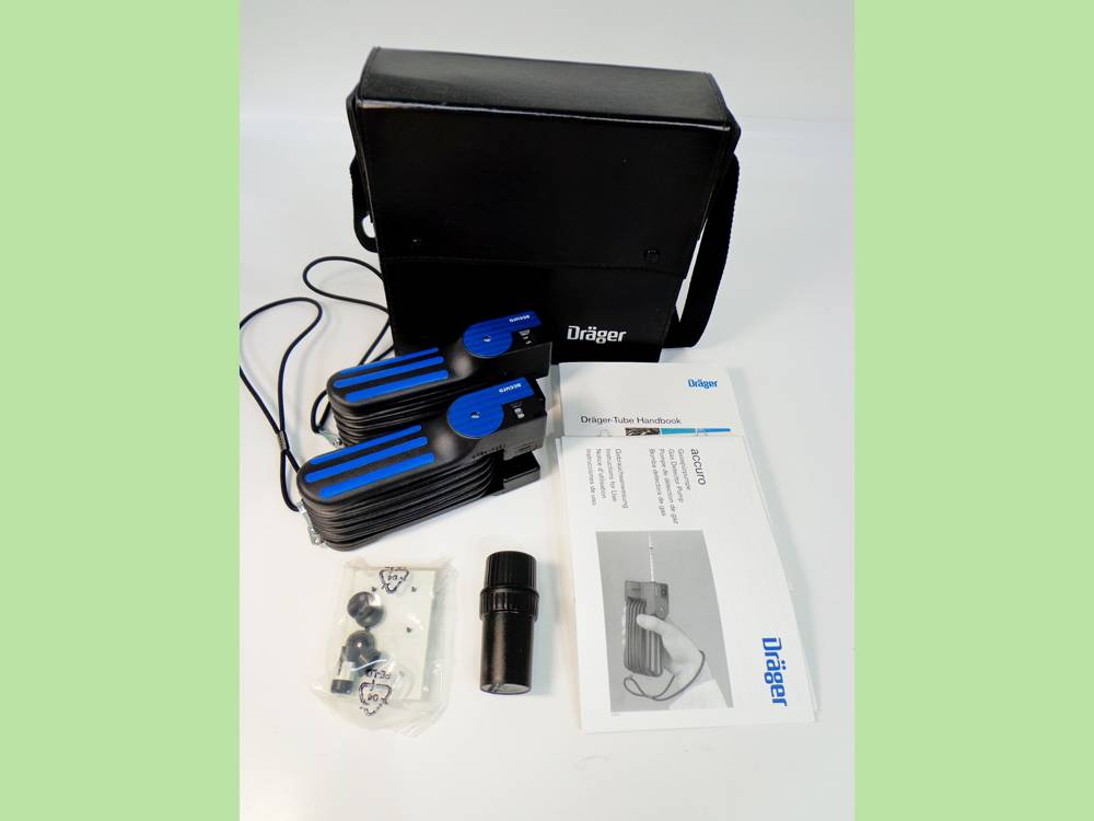 Product Drager Multi Gas Detector Kit (Accuro) Including 2No Pumps