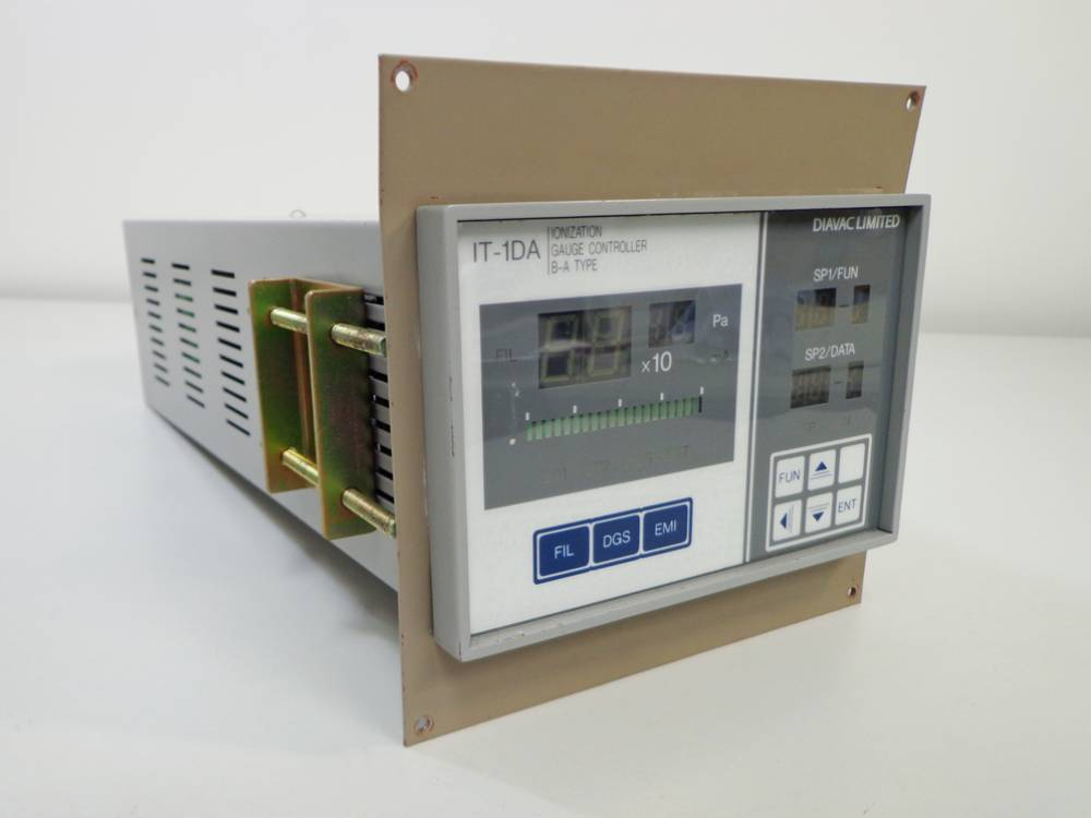 Diavac Limited IT-1DA Ionization  Vacuum Gauge Controller, B-A Type.