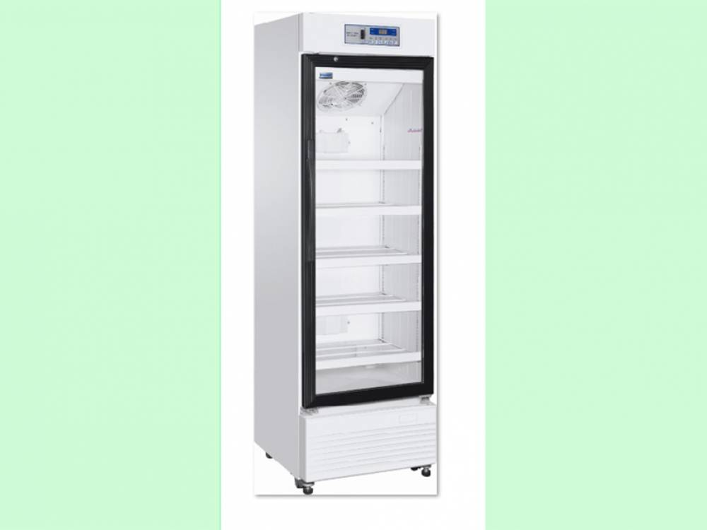 Pharmacy Refrigerator, Upright with glass door. 360litres