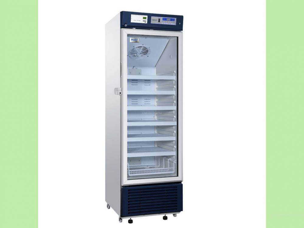 Pharmacy Refrigerator, Upright. 390litres. USB interface.