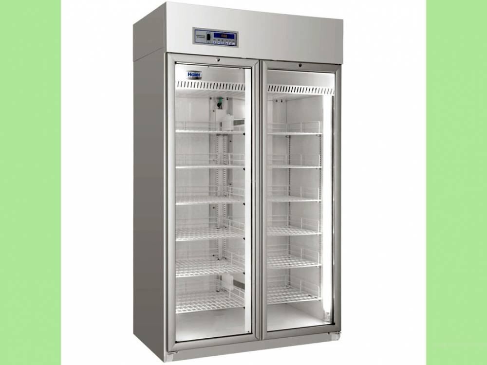 Pharmacy Refrigerator HYC-940, Upright, 940litres with glass double door