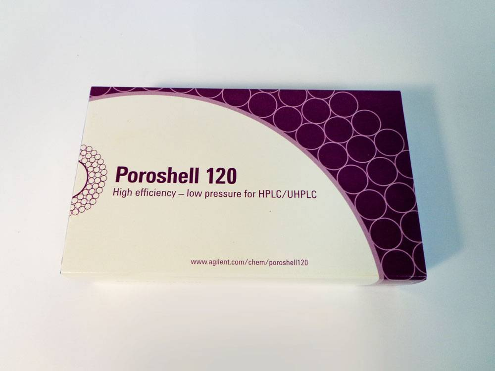 Agilent Technology Poroshell 120 EC-C18 2.1x30mm 2.7 -Micron HPLC/UHPLC Column.